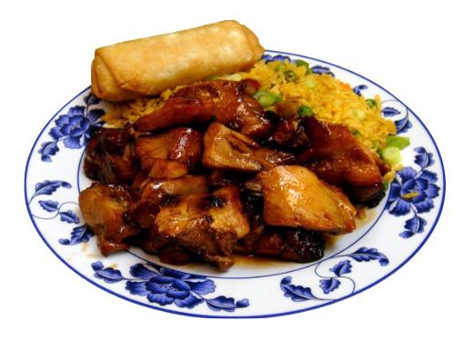 Bourbon Chicken Combination